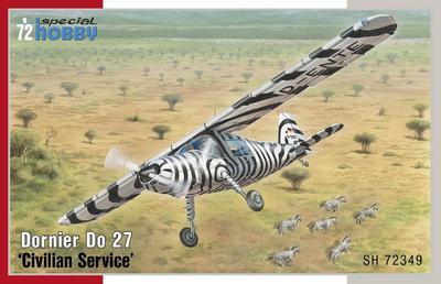"""Dornier Do 27 """"Civilian Service"""""""