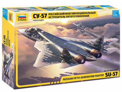 Russian Fift-Generation Fighter SU-57 - 1