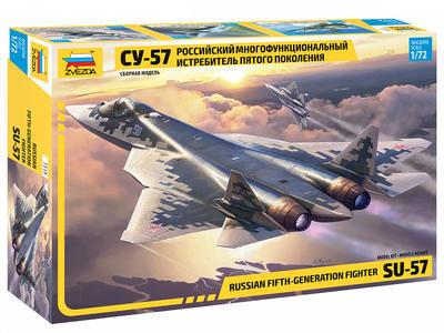 Russian Fift-Generation Fighter SU-57 - 1