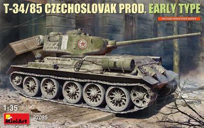 T-34/85 CZECHOSLOVAK PROD. EARLY TYPE - 1