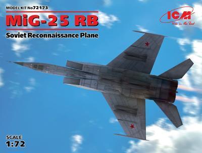 Mig-25 RB Soviet Reconnaissance Plane - 1