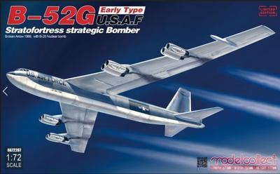 B-52G U.S.A.F. Stratofortress strategic Bomber Early Type,  1966,  with B28 Nuclear Bomb
