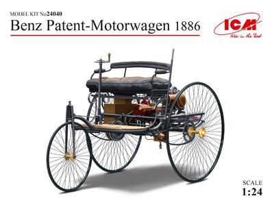 Benz Patent - Motorwagen 1886 - 1