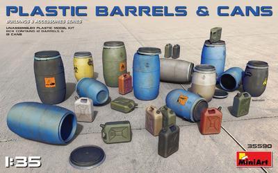 Plastic Barrels & Cans - 1