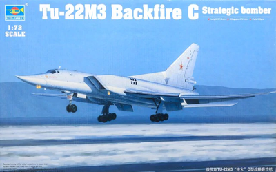 Tu-22M3 Backfire C Strategic bomber