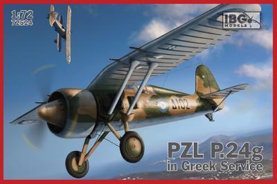 PZL P.24g Greek Service