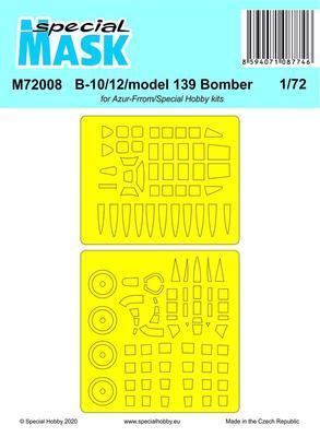 B-10/12/model 139 Bomber, mask