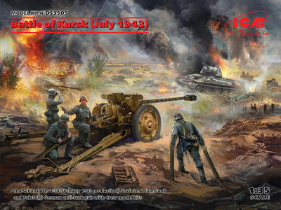 Battle of Kursk (July 1943) (T-34-76 (early 1943), Pak 36(r ) with Crew (4 figures)) - 1