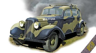 Super Snipe Saloon Brtish Staff Car - 1
