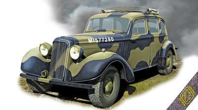 Super Snipe Saloon Brtish Staff Car - 1