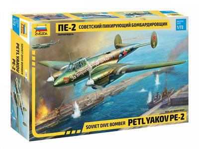 Soviet Dive Bomber Petlyakov PE-2 - 1