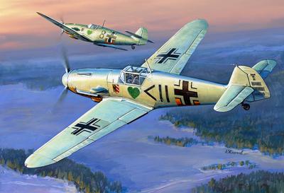 Messerschmitt BF-109 F2 - 1