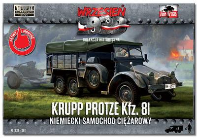 Krupp Protze Kfz. 81 Niemiecky Samochod Ciezarowy - 1