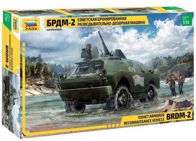 BRDM-2 Russian Armored Car (1:35)
