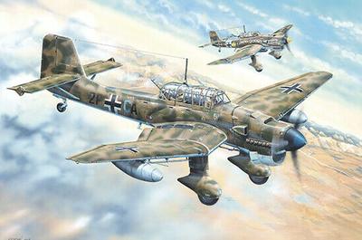 Junkers Ju 87R Stuka 1:24