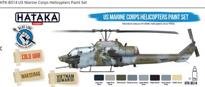 US Marine Corps Helicopters Paint Set, sasa barev - 1