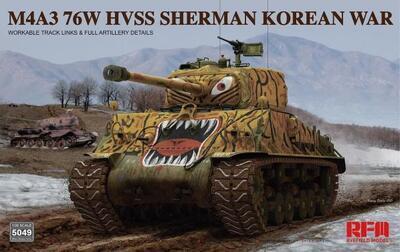 M4A3 76W HVSS Sherman Korean War - 1
