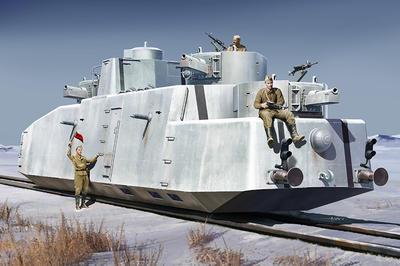 Soviet MBV-2 (late KT-28 GUN)Armored Train - 1