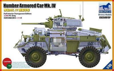 Humber Armoured car MK.IV - Full Interior Transparent Edition