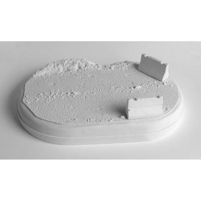 asfaltka - ovál (natur) + 1x zábrama - 1