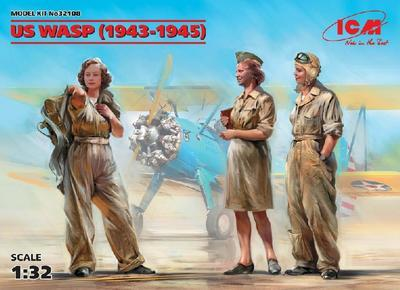 US WASP (1943-1945) (3 figures) (100% new molds).