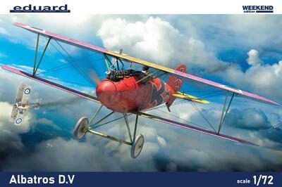 Albatros D. V 1/72  weekend edition