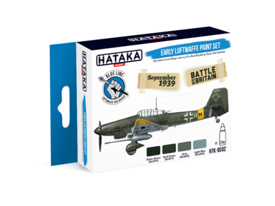 Early Luftwaffe Paint Set, sada barev - 1