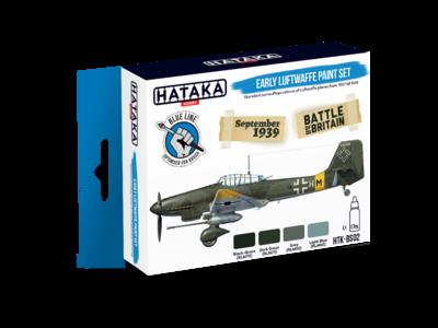 Early Luftwaffe Paint Set, sada barev - 1