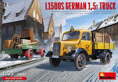 L1500S GERMAN 1,5T TRUCK - 1