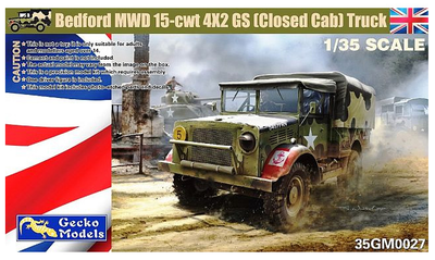 Bedford MWD 15-cwt 4x2 GS (closed cab) Truck