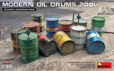 Modern Oil Drums 200L - 1