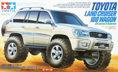 Mini 4WD #21 Toyota Land Cruiser 100 Wagon