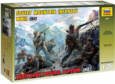 Soviet Mountain Troops WWII (1:35)