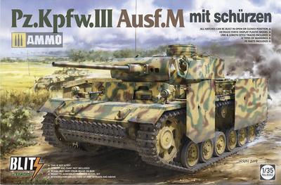 Pz.Kpfw.III Ausf. M mit schurzen