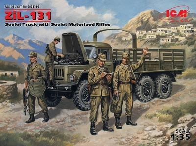 ZIL 131 with Soviet Motor Riflemen