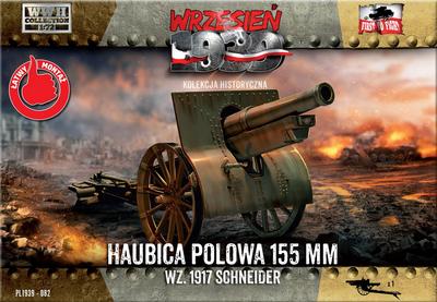 155mm Howitzer field wz. 1917 Schneider
