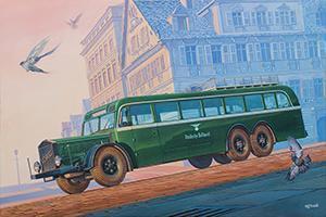 Vomag Omnibus 7OR 660