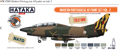 Modern Portuguese AF paint set vol. 2 - 1