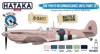 RAF Photo Reconnaussance Unit Paint set, sada barev - 1