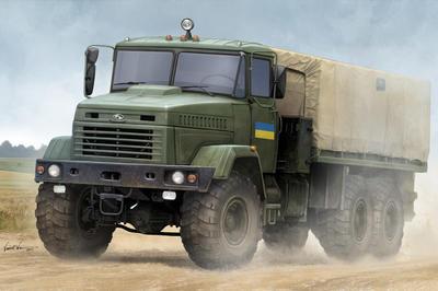 """Ukraine KrAZ- 6322 """"Soldier"""" Cargo truck"""
