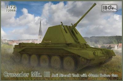 Crusader Mk.III Anti Aircraft Tank with Bofors 40mm Gun