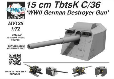 15 cm TbtsK C/36 'WWII German Destroyer Gun'