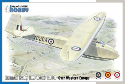 Grunau Baby IIB/Nord 1300 'Over Western Europe'  - 1