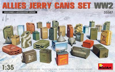 Allies Jerry Cans Set WWII - 1