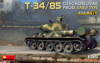 T-34/85 Czechoslovak Production Early Type - 1