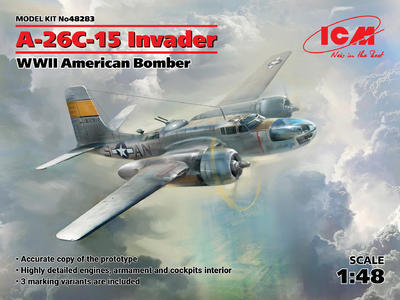 A-26C-15 Invader WWII American Bomber