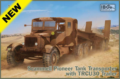 Scammell Pioneer Tank Transporter with TRCU30 trailer - 1