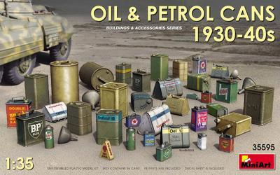 Oil & Petrol Cans 1930-40s - 1