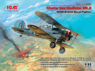 Sea Gloster Gladiator Mk.II,  British Naval Fighter - 1