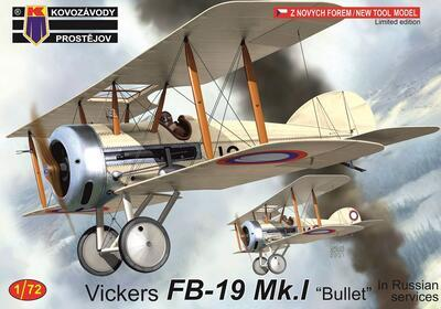 """Vickers FB-19 """"Bullet"""" In Russian Services"""